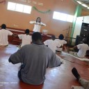 Yoga, Pranayama from the Art of Living course in Jamaican prison