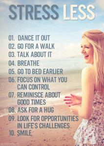 Ways to Stress Less